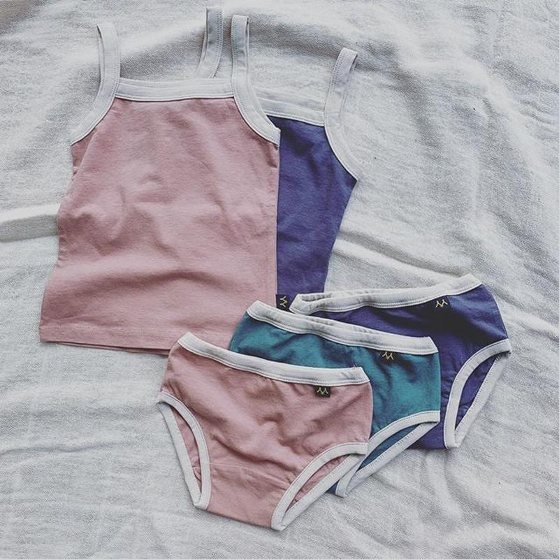 girl's underwear 5set