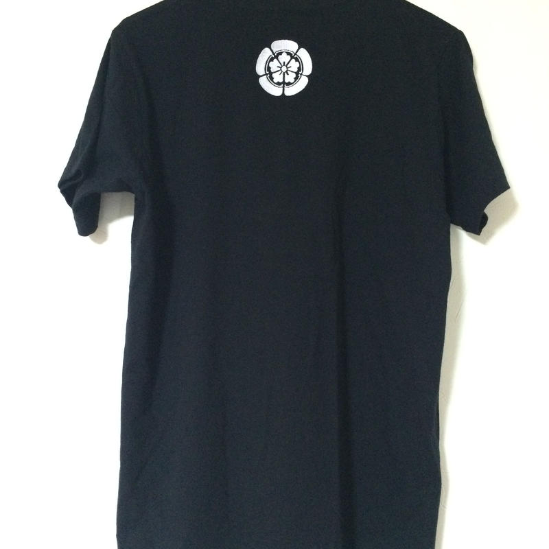 家紋Tシャツ(刺繡)