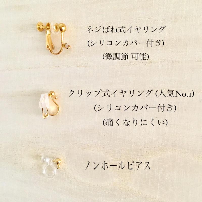 【無料】イヤリング交換パーツ