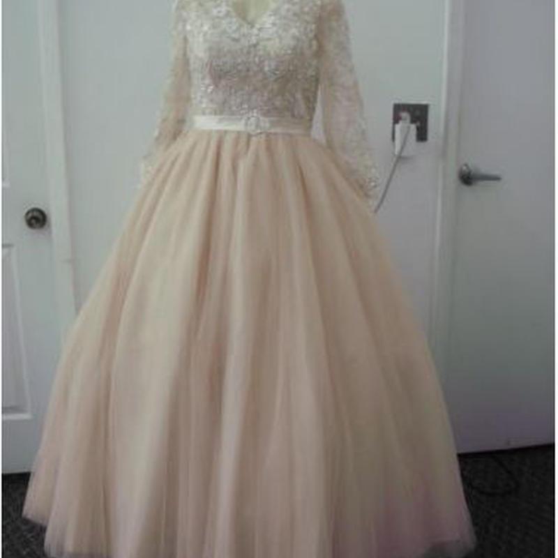 Mary's Bridal Ivory Tulle 2558 Modern Wedding Dress 大きいサイズ