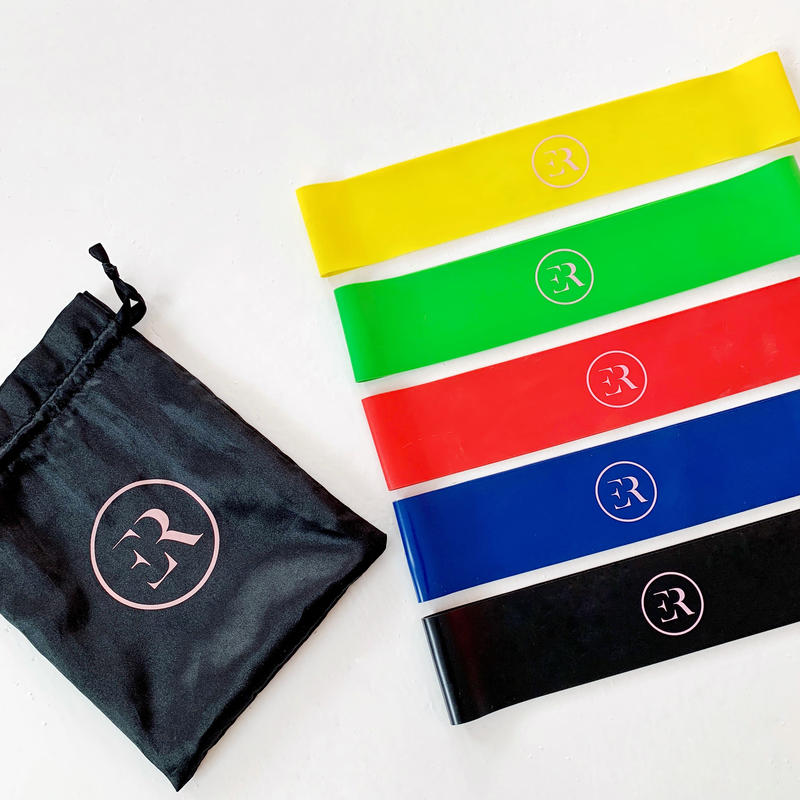 5 Resistance Bands Set + Free Pouch Bag + Free Shipping