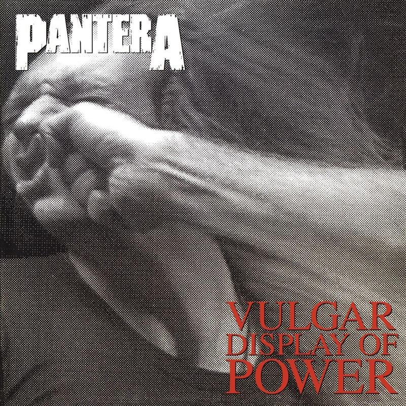 レコードPanteraパンテラ俗悪Vulgar Display Of Power