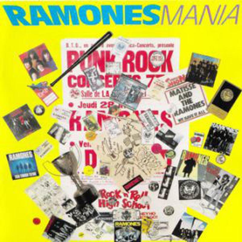 新品レコードRamones Maniaラモーンズ・マニア アナログLP