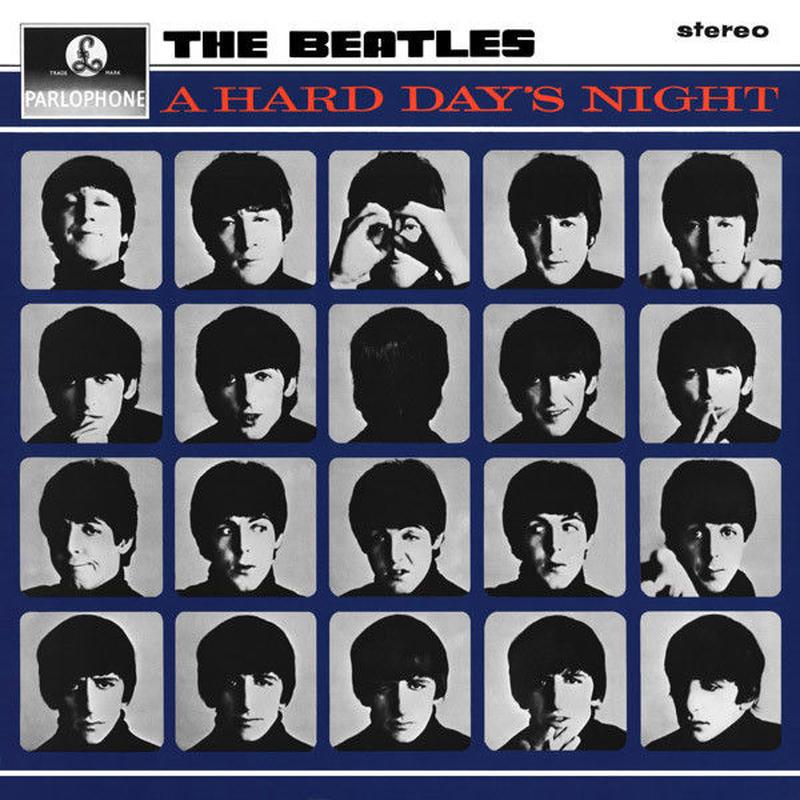 新品レコード ザ・ビートルズ The Beatles ア・ハード・デイズ・ナイト A Hard Day's Night アナログLP 輸入盤