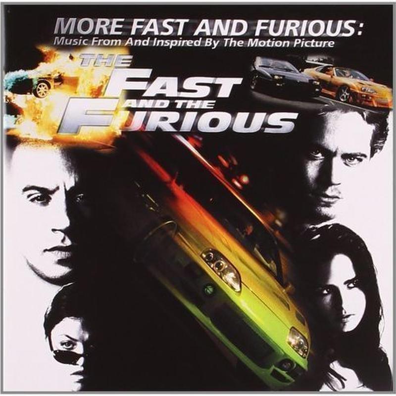 新品ワイルドスピードMORE Fast and Furiousサントラ輸入盤
