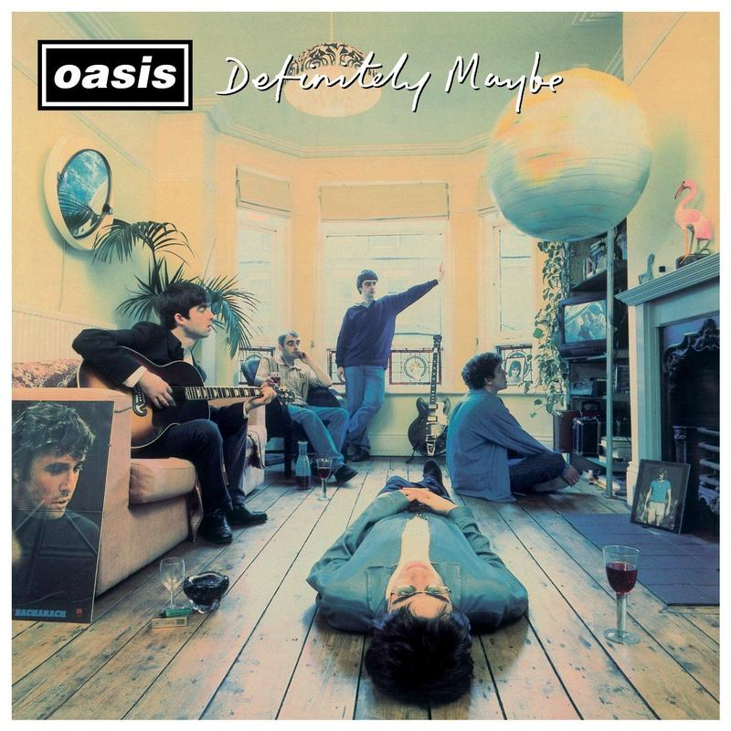 新品レコードOasis オアシス Definitely Maybe輸入盤LP