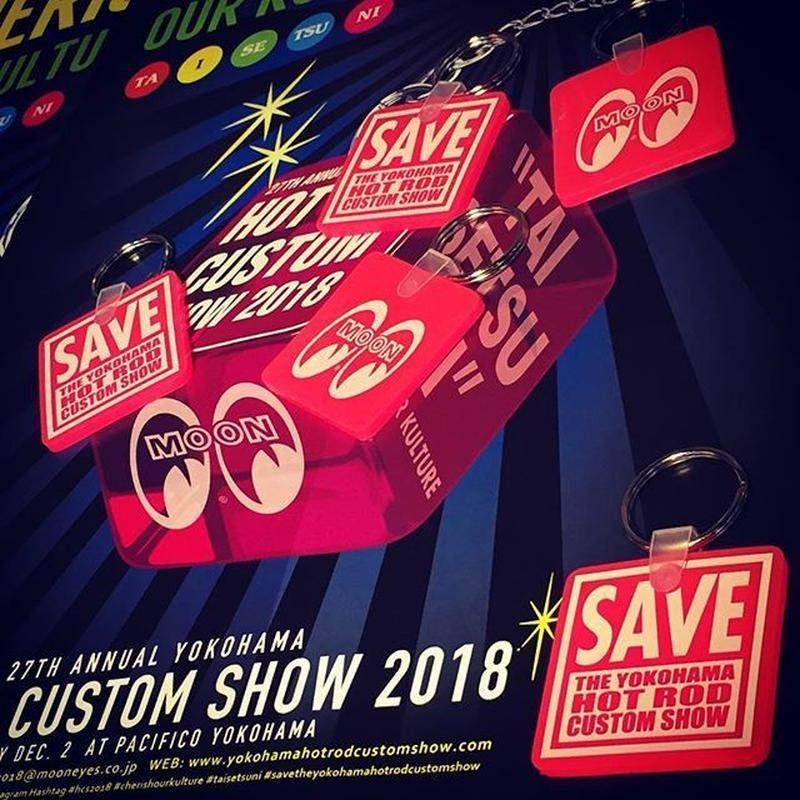 SAVE THE YOKOHAMA HOT ROD CUSTOM SHOW キー リング MKR144PK