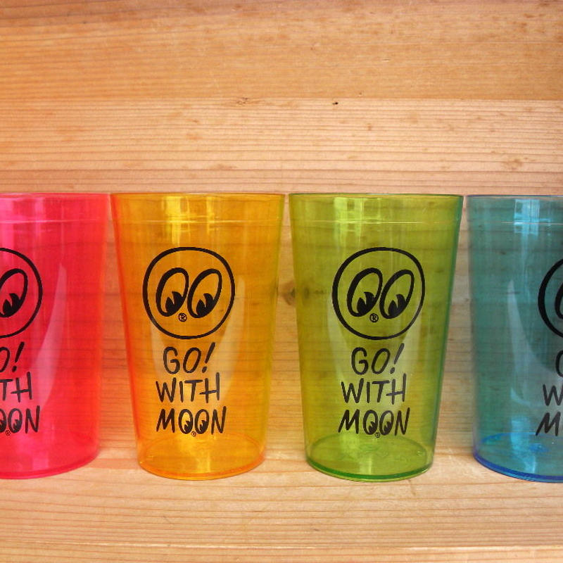 Go with MOON プラスチック カップ (set of 4) MG807
