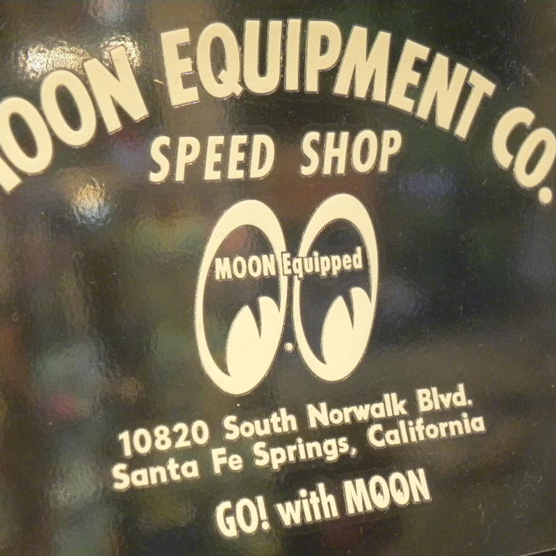 MOON EQUIPMENT SPEED SHOP デカール MQD021IV