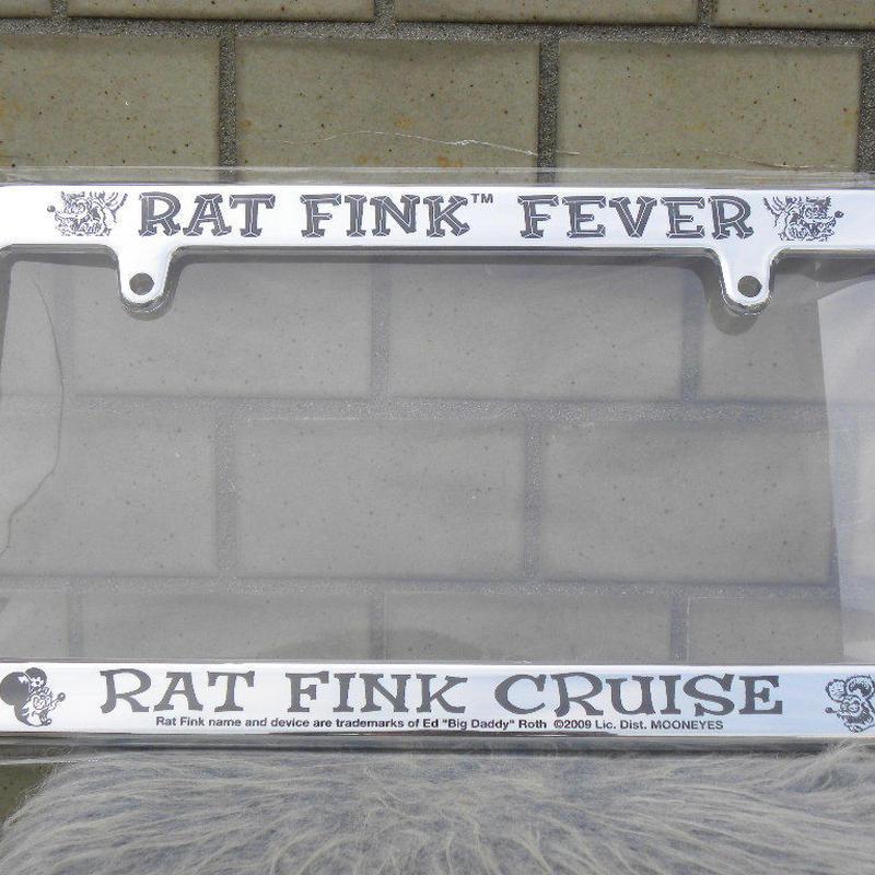 ラットフィンク ライセンスフレーム RAT FINK CRUISE