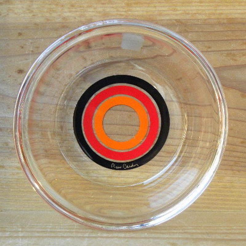 ピエールカルダン ガラス製ボール 小鉢 佐々木硝子