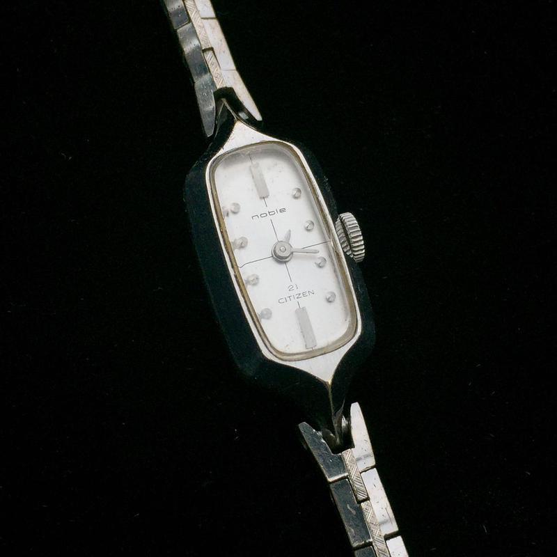 CITIZEN noble レディース 腕時計 手巻き 21石