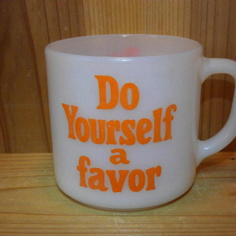 ミルクガラス FEDERAL Do YourSelf a favor