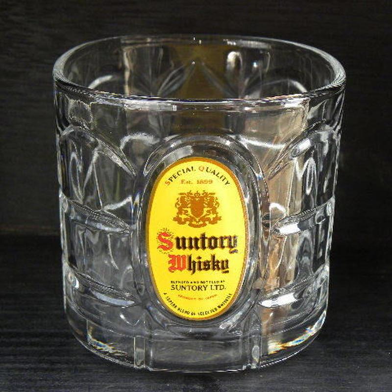 サントリー 角瓶グラス イエロー × ゴールド