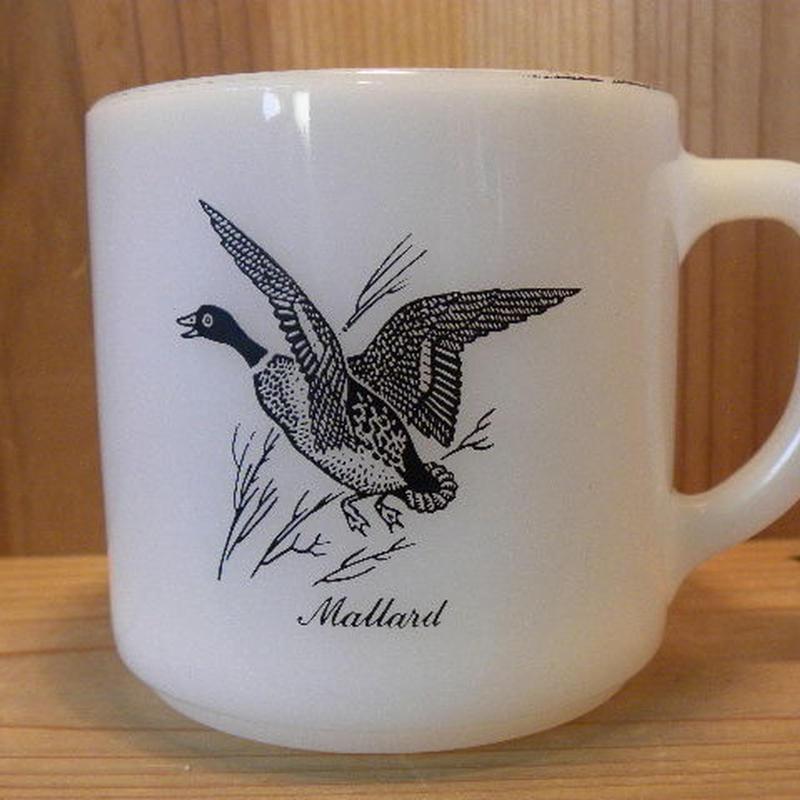 ミルクガラス FEDERAL CanadaGoose Mallard