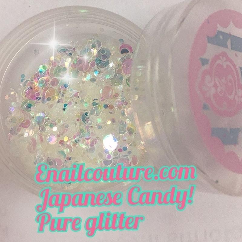Japanese Candy , pure glitter mix! ジャパニーズキャンディ グリッターミックス