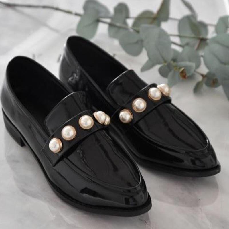 SHO1074  パール革靴