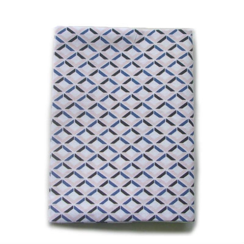 リサイクル素材のブックカバー 菱形