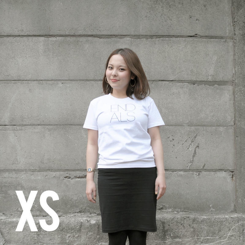 END ALS BASIC TEE WHITE (XS)
