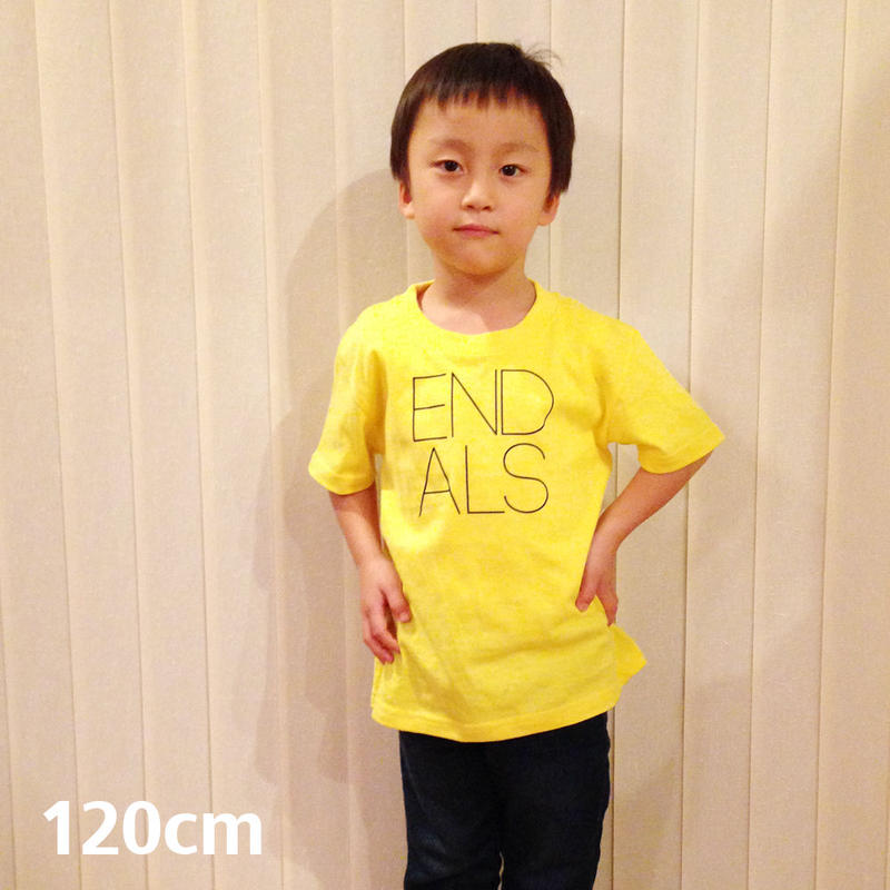 END ALS KIDS TEE YELLOW (120cm)