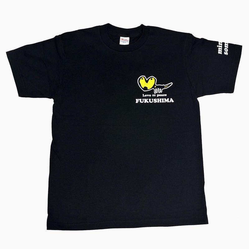 くるみちゃんTシャツ(チョビ・ブラック)