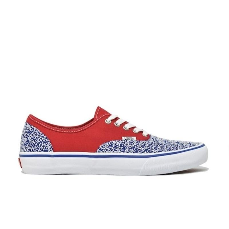 VANS × FUCKING AWESOME AUTHENTIC PRO RED BLUE  バンズ ファッキンオーサム オーセンティック プロ レッド