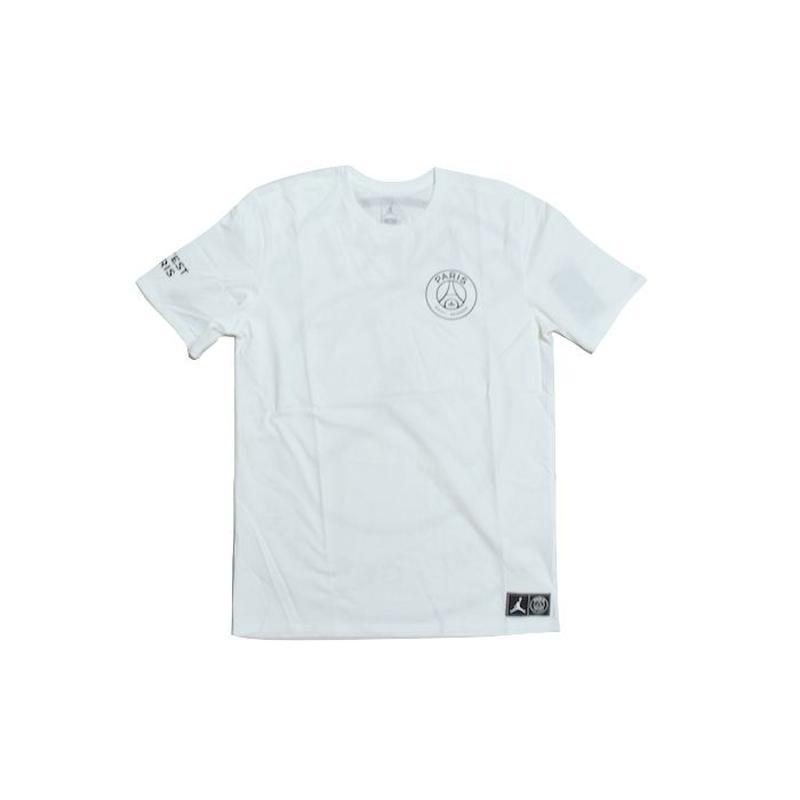 NIKE AIR JORDAN × PSG S/S  WORD MARK TEE WHITE ナイキ エアジョーダン パリサンジェルマン Tシャツ ホワイト