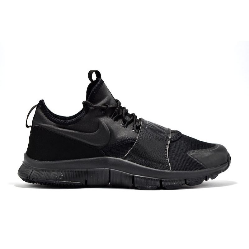 NIKE FREE ACE LEATHER TRIPLE BLACK ナイキ フリーエース
