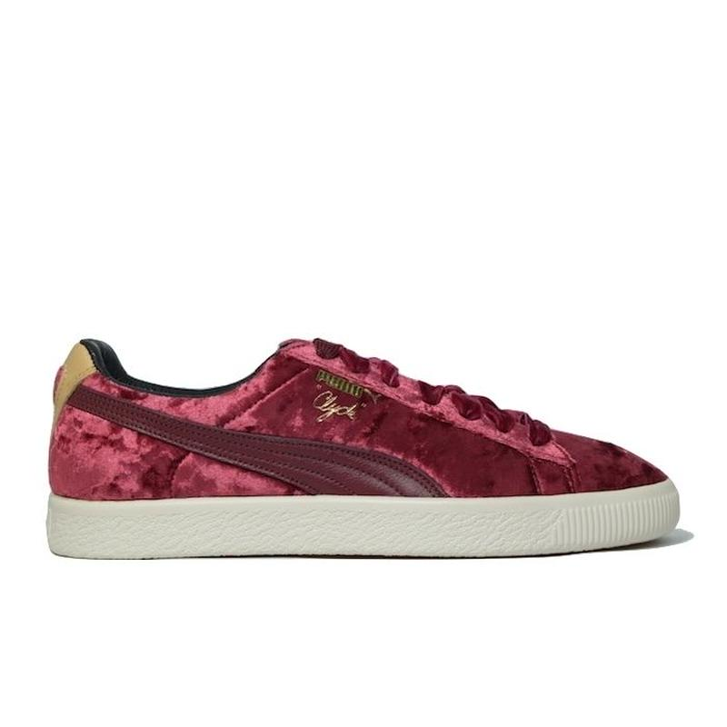 PUMA × EXTRA BUTTER CLYDE CABERNET プーマ クライド