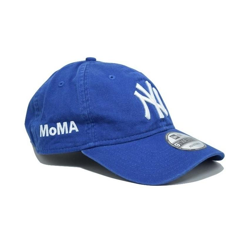 NEW ERA × MoMA 9TWENTY STRAP BACK CAP BLUE NY YANKEES ニューエラ ヤンキース キャップ ブルー