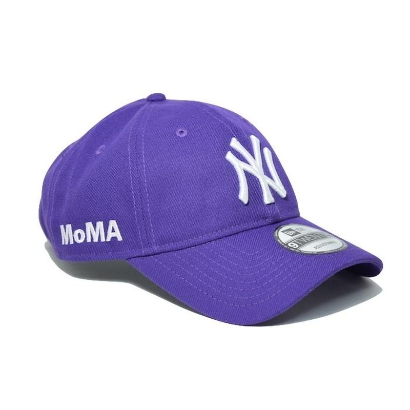 NEW ERA × MoMA 9TWENTY STRAP BACK CAP PURPLE  NY YANKEES ニューエラ ヤンキース キャップ パープル