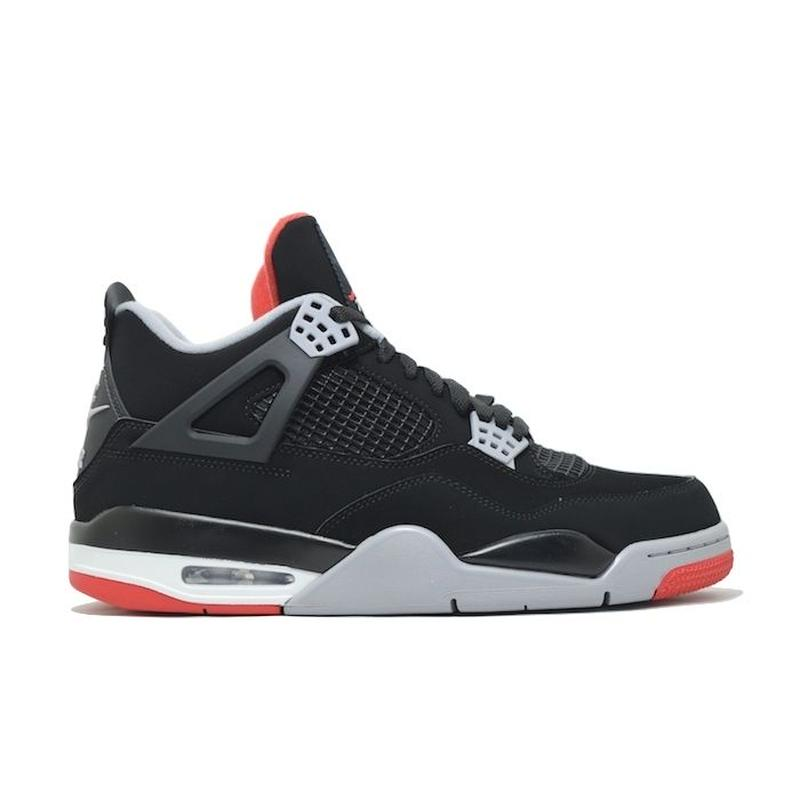 NIKE AIR JORDAN 4 RETRO OG BLACK CEMENT RED ナイキ エアジョーダン レトロ