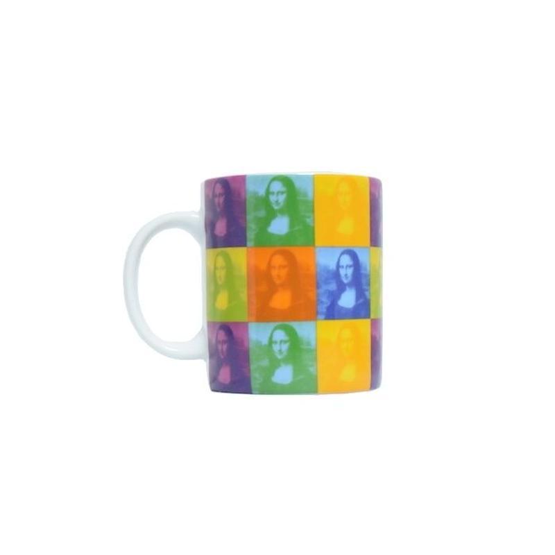 "MUSEE DU LOUVRE MUG CUP ""MONA LISA"" ルーブル美術館 マグカップ  モナリザ"