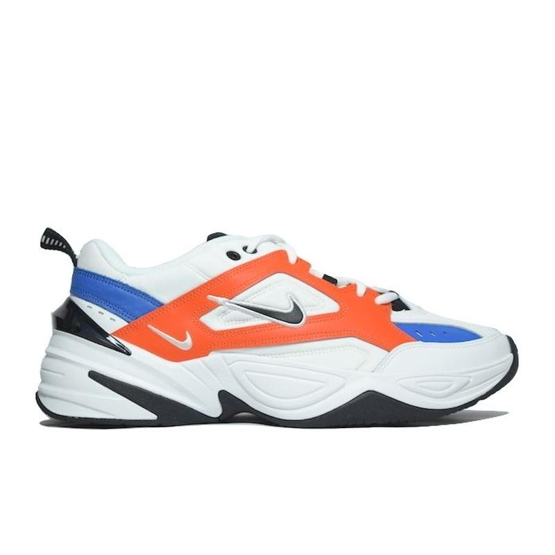 NIKE M2K TEKNO WHITE BLUE BLAZE ORANGE ナイキ テクノ