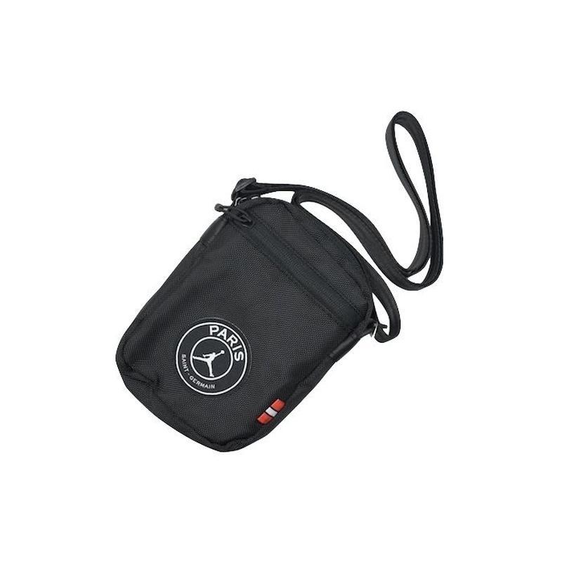 NIKE AIR JORDAN × PSG MINI SHOULDER BAG BLACK ナイキ エアジョーダン ショルダーバッグ  パリサンジェルマン ブラック