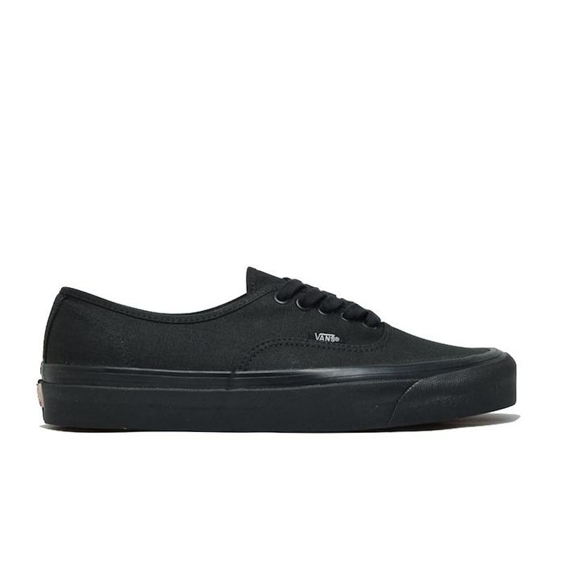 "VANS AUTHENTIC 44 DX ""ANAHEIM FACTORY"" ALL BLACK  アナハイムファクトリー  ブラック"