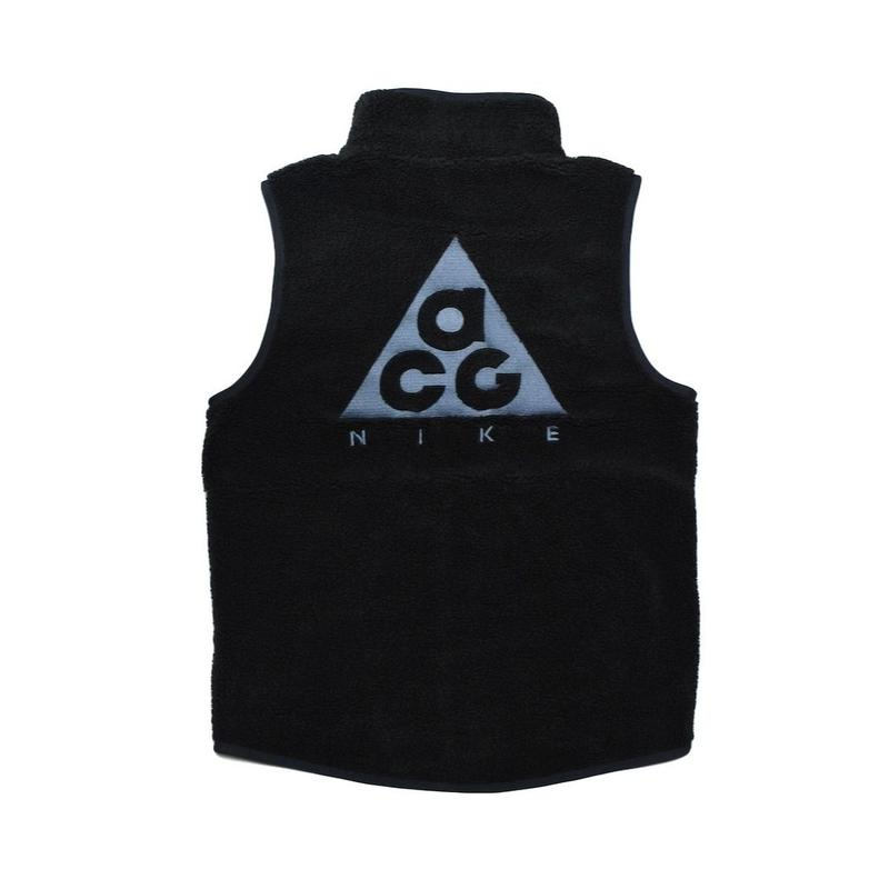 NIKE ACG VEST BLACK GREY ナイキ ベスト フリース ブラック