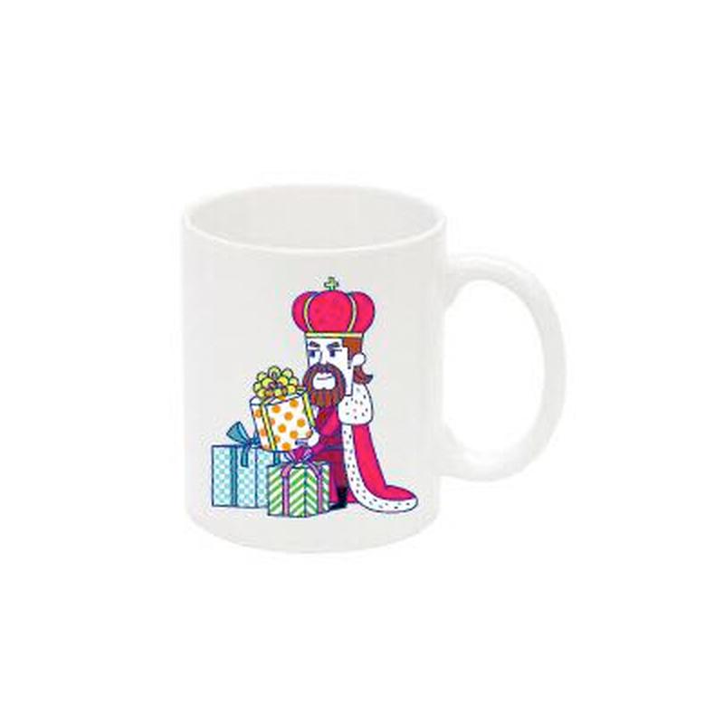 王様マグカップ