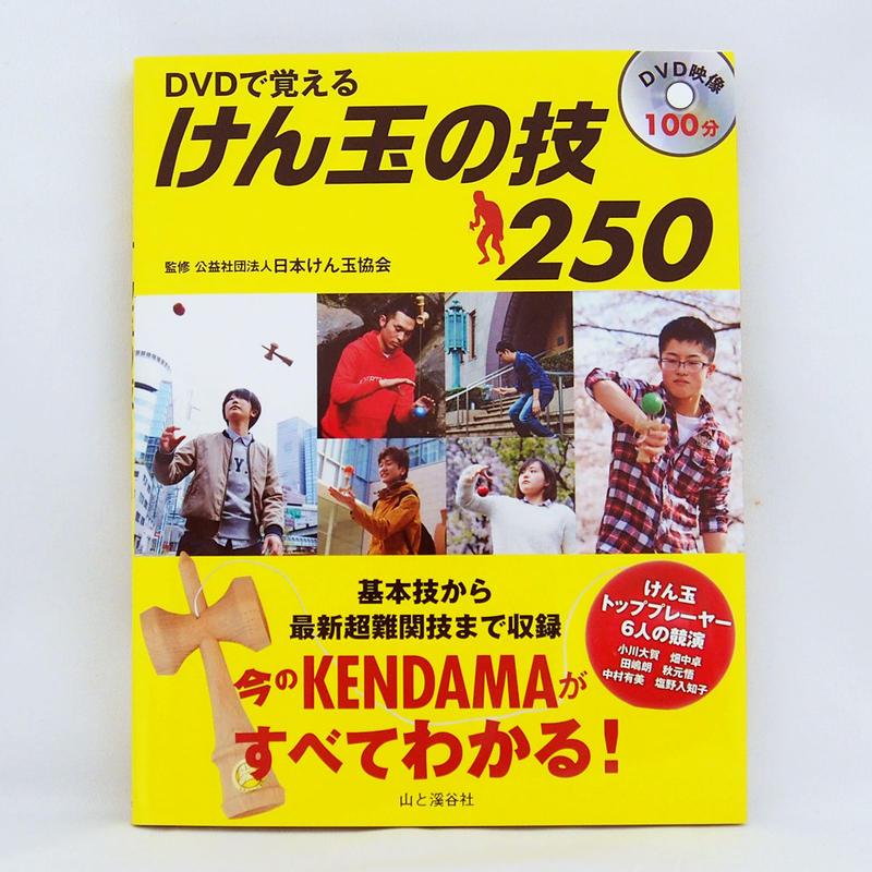 DVDで覚えるけん玉の技250