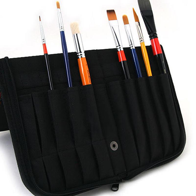 携帯しやすい筆ケース