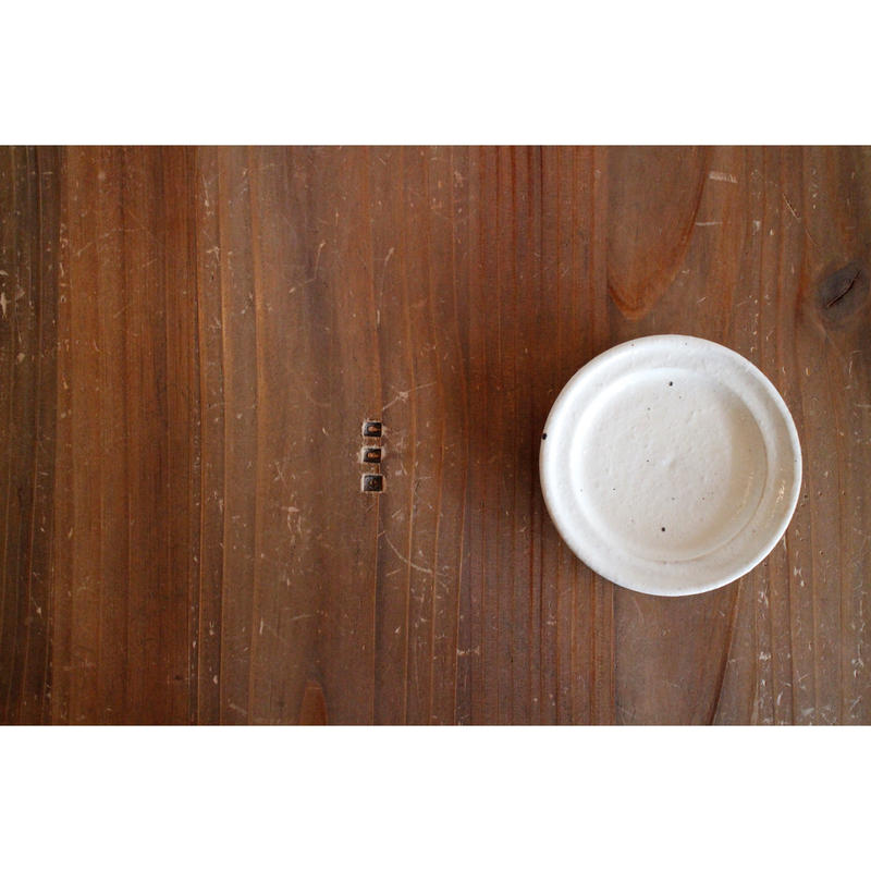 ロー29 鉄散 リム豆皿(玉渕)ウリタシ29