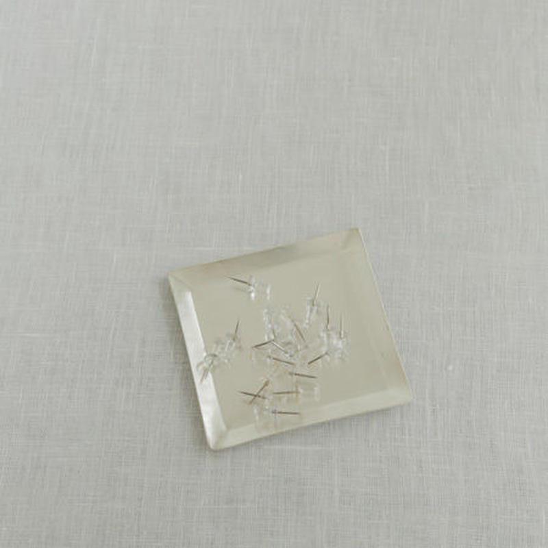 シルバープレイテッドプレート 正方形 IAS405S