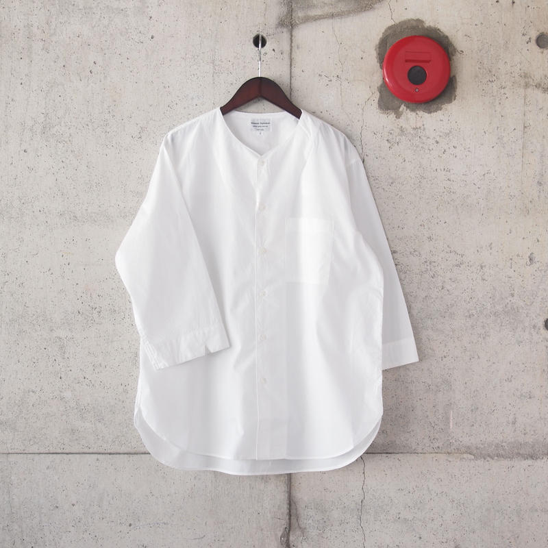 Manual Alphabet〈マニュアルアルファベット〉 TYPEWRITER OVER SHIRT WHITE