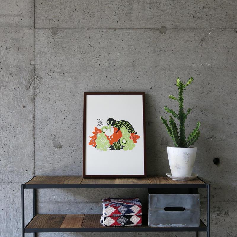 FRUIT OF THE LOOM〈フルーツオブザルーム〉 FRUIT PARLOR アートボード - Art by riya