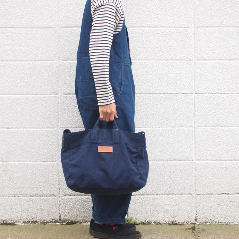 Butler Verner Sails〈バトラーバーナーセイルズ〉  POSTMAN SHOULDER BAG NAVY/BLUEGREY