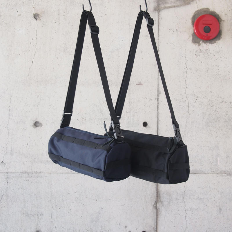 Butler Verner Sails〈バトラーバーナーセイルズ〉MULTI USE SHOULDER BAG  NAVY/BLACK