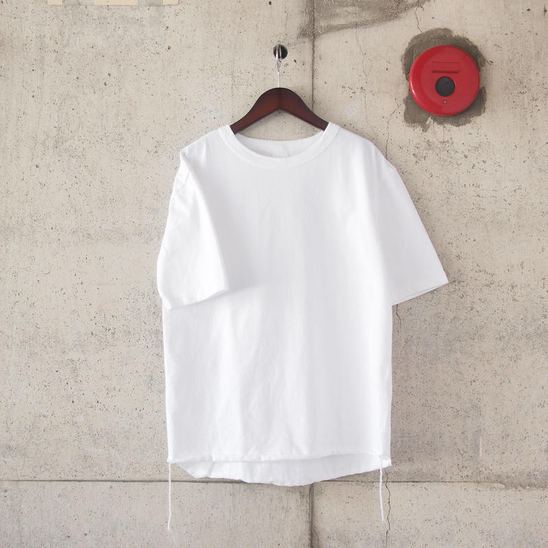 【unisex】have a good day〈ハブアグッデイ〉LOOSE FIT TEE WHITE