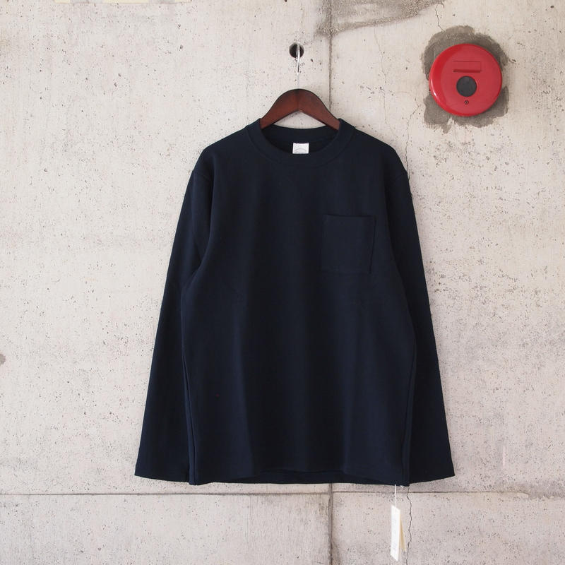 Manual Alphabet〈マニュアルアルファベット〉MILITARY FRAISE L/S T-SHIRTS NAVY