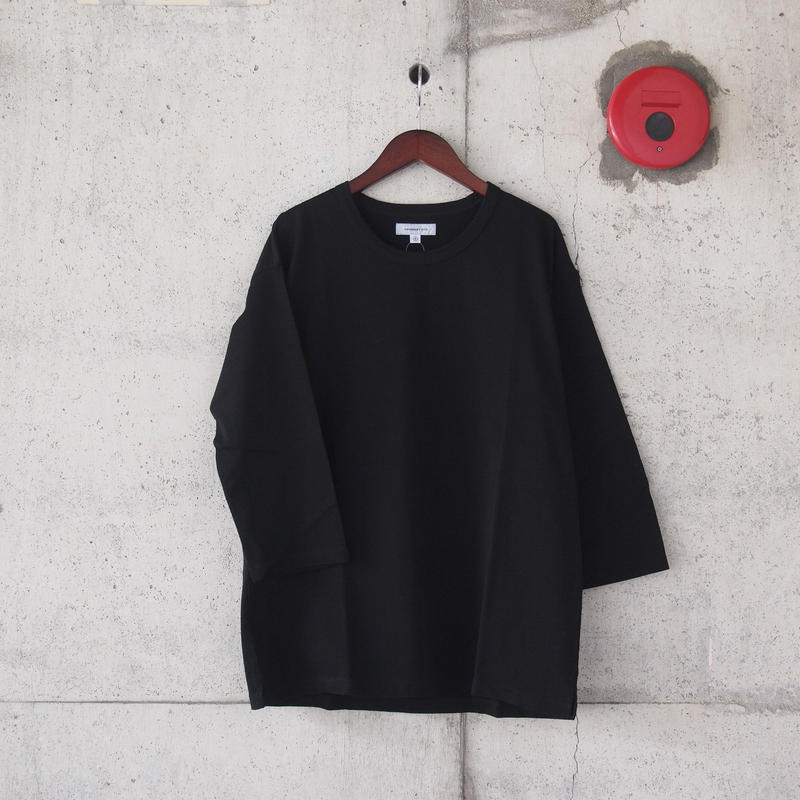 【unisex】Ordinary fits〈オーディナリーフィッツ〉FLEX TEE BLACK