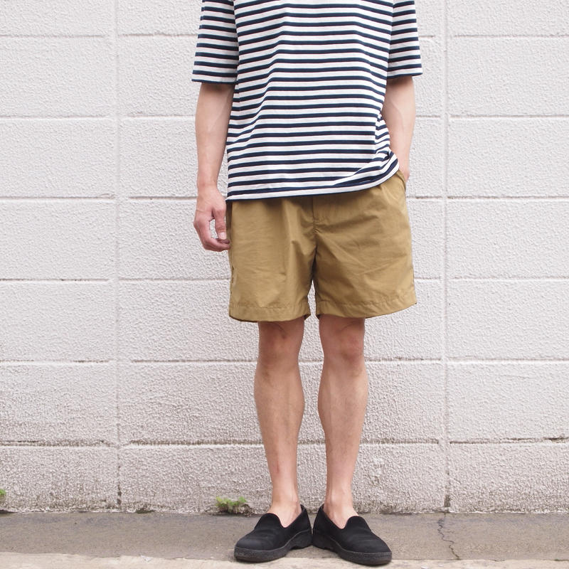 【unisex】Ordinary fits〈オーディナリーフィッツ〉 POOL SHORTS CAMEL